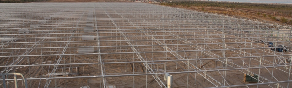 Dalsem - Kazachstan - new greenhouse - foundation
