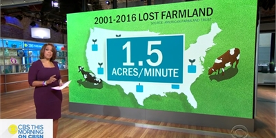 CBS this morning 'Eye on Earth'  AppHarvest - The future of farming U.S.